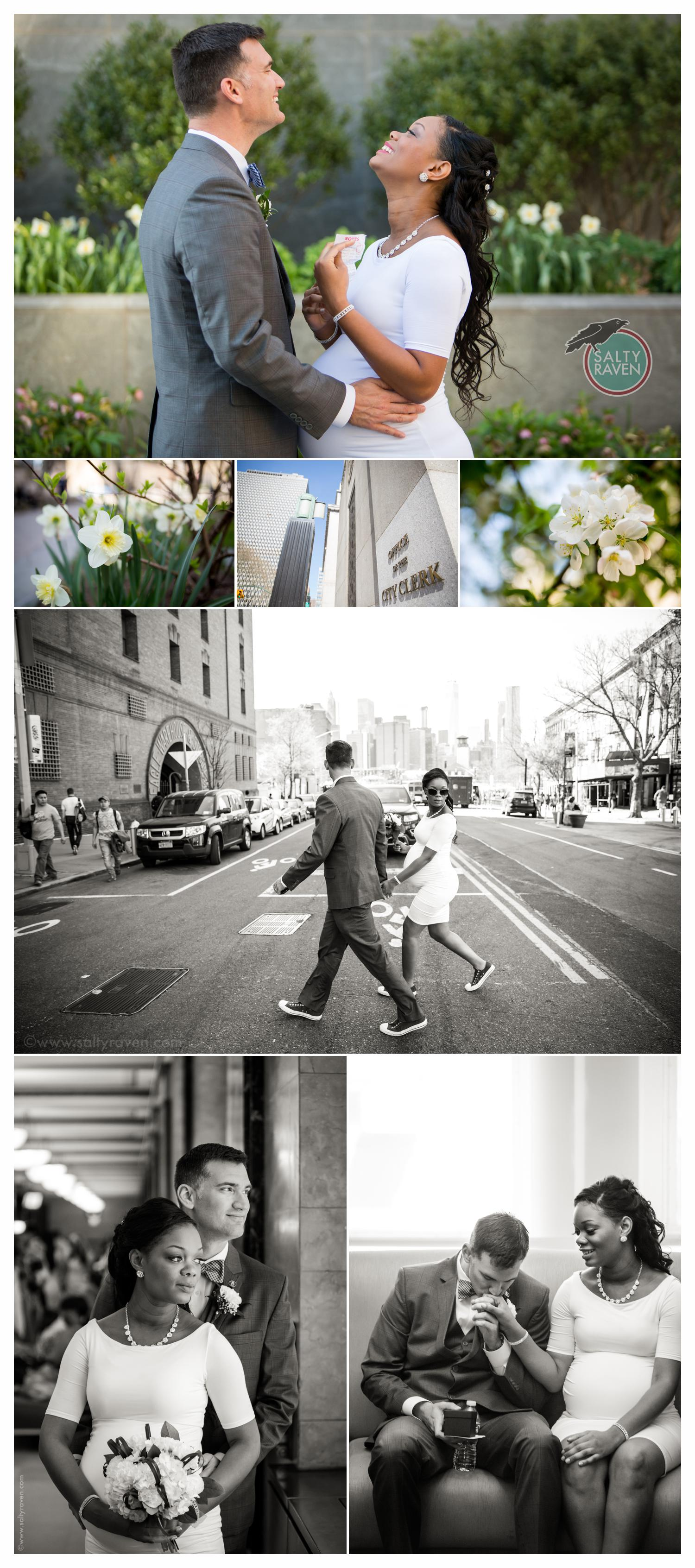 New York City Hall Wedding Photographer 1